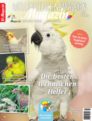 WP-Magazin Wellensittich & Papageien 03/2019