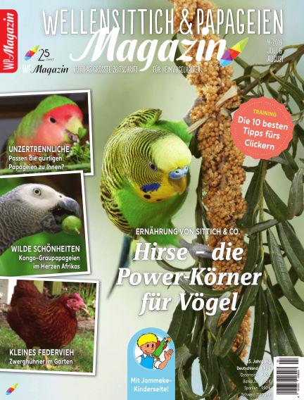 WP-Magazin Wellensittich & Papageien June 26, 2019 00:00
