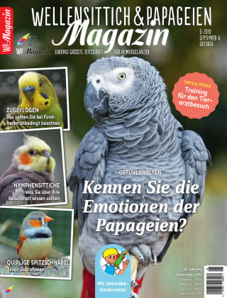 WP-Magazin Wellensittich & Papageien 05/2019