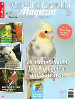 WP-Magazin Wellensittich & Papageien 06/2019