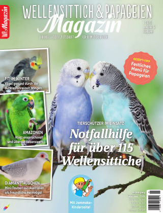 WP-Magazin Wellensittich & Papageien 01/2020