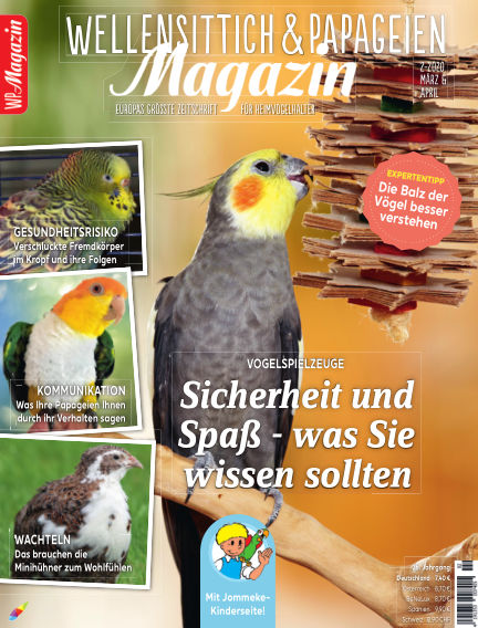 WP-Magazin Wellensittich & Papageien February 28, 2020 00:00