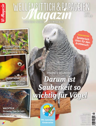 WP-Magazin Wellensittich & Papageien 03/2020