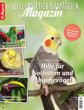 WP-Magazin Wellensittich & Papageien 05/2020