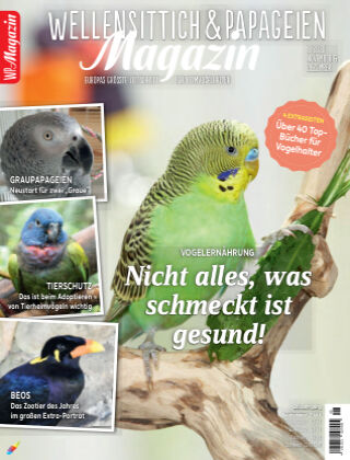 WP-Magazin Wellensittich & Papageien 06/2020