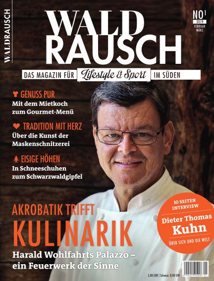 WALDRAUSCH - Dein Magazin für Schwarzwald, Alb und Bodensee January 26, 2019 00:00