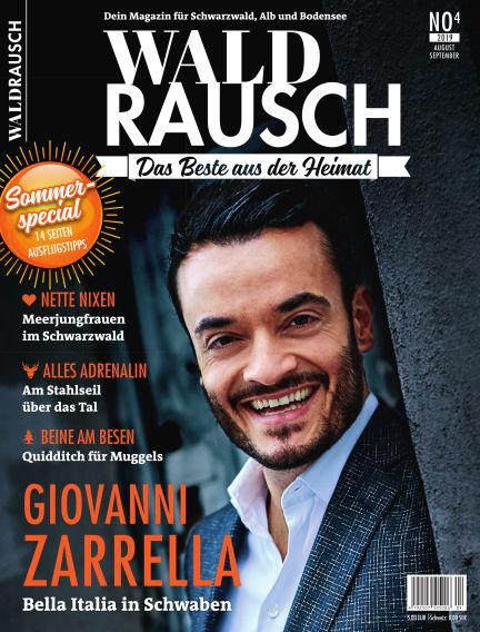 WALDRAUSCH - Dein Magazin für Schwarzwald, Alb und Bodensee July 20, 2019 00:00