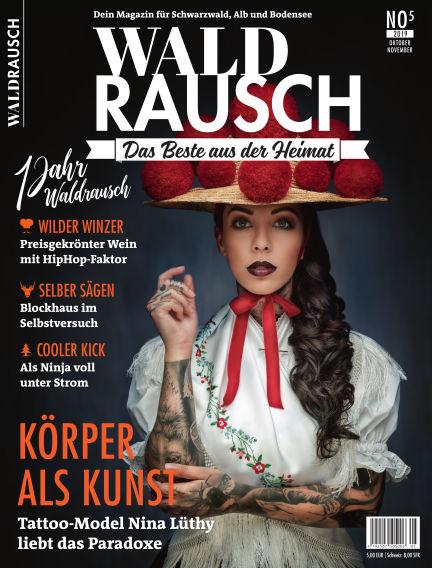 WALDRAUSCH - Dein Magazin für Schwarzwald, Alb und Bodensee September 28, 2019 00:00