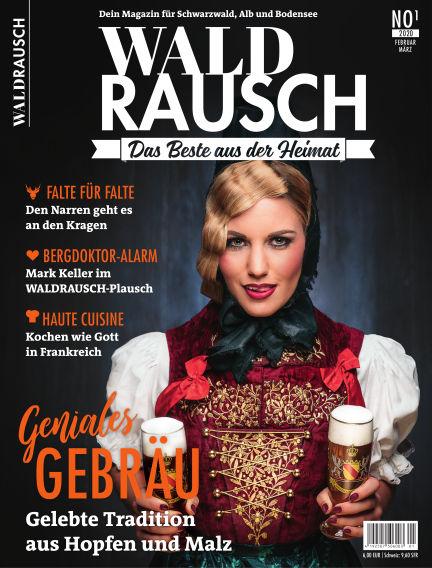 WALDRAUSCH - Dein Magazin für Schwarzwald, Alb und Bodensee January 25, 2020 00:00