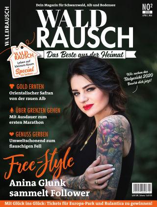 WALDRAUSCH - Dein Magazin für Schwarzwald, Alb und Bodensee No2 | 2020