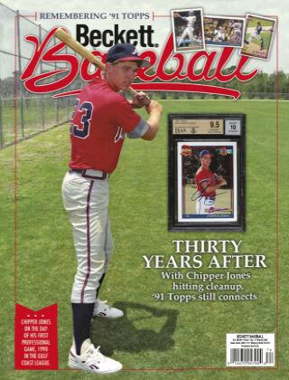 Beckett Baseball March 2021
