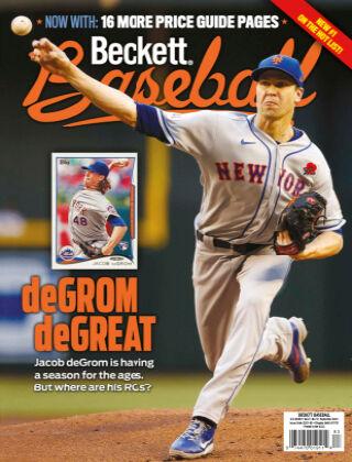 Beckett Baseball September 2021