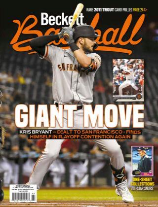 Beckett Baseball Oct