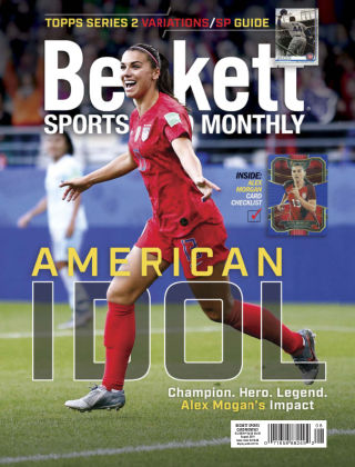 Beckett Sports Card Monthly Aug