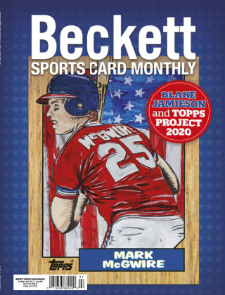 Beckett Sports Card Monthly July 2020