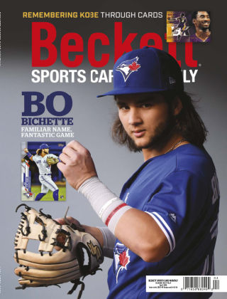 Beckett Sports Card Monthly April 2020