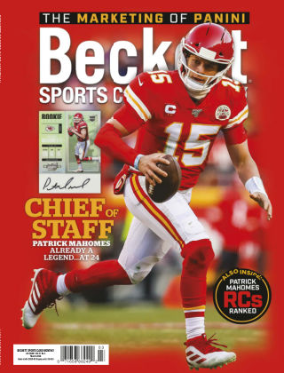 Beckett Sports Card Monthly March 2020