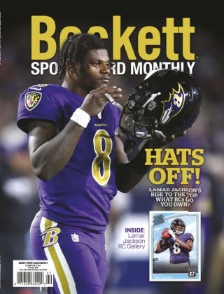 Beckett Sports Card Monthly Feb 2020