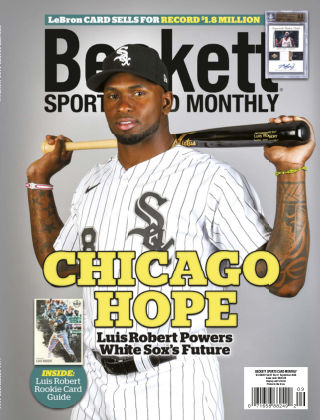 Beckett Sports Card Monthly September 2020