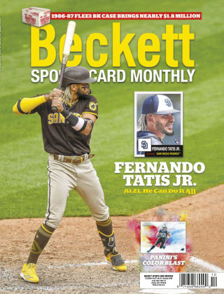 Beckett Sports Card Monthly October 2020