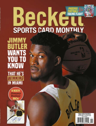 Beckett Sports Card Monthly November 2020