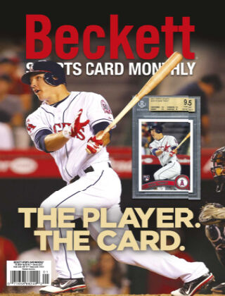 Beckett Sports Card Monthly January 2021