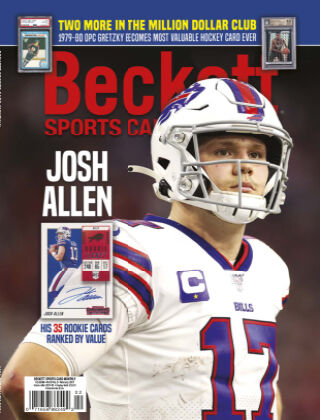 Beckett Sports Card Monthly February 2021