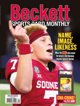 Beckett Sports Card Monthly Sept