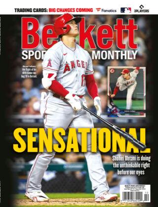 Beckett Sports Card Monthly Oct