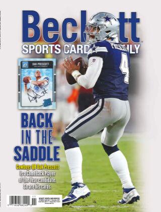Beckett Sports Card Monthly Nov