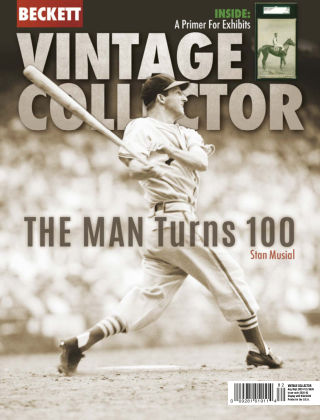 Beckett Vintage Collector Aug-Sep 2020