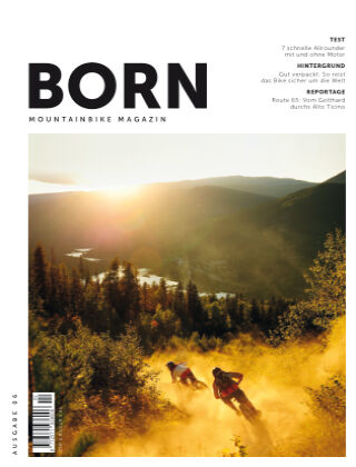 BORN Mountainbike Magazin DE 2020-02