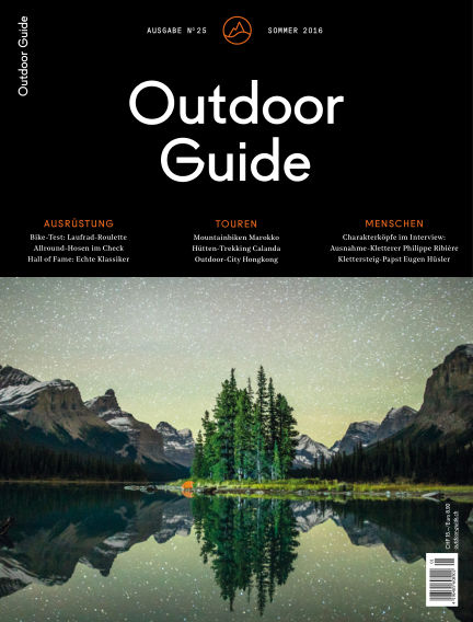 Outdoor Guide CH May 15, 2016 00:00