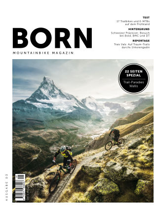 BORN Mountainbike Magazin CH 2019-01