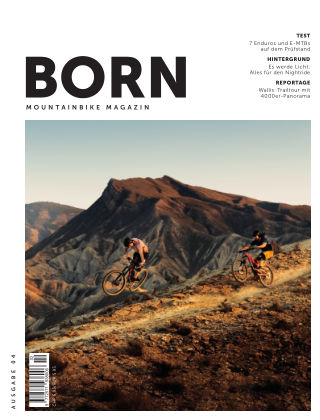 BORN Mountainbike Magazin CH 2019-02