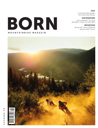 BORN Mountainbike Magazin CH 2020-02