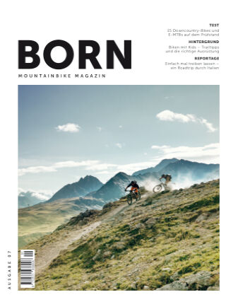 BORN Mountainbike Magazin CH 2021-01