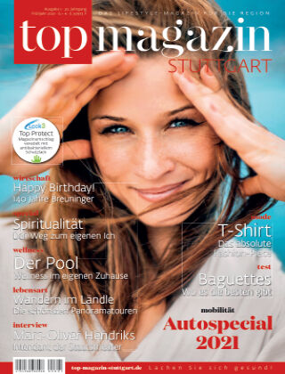 top magazin Stuttgart 01/2021