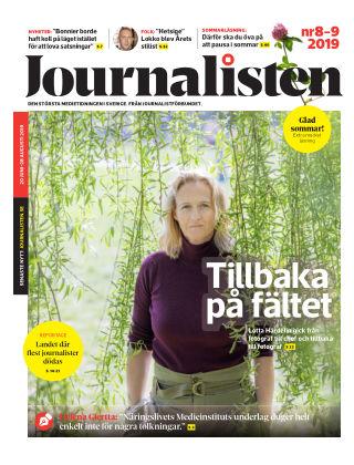 Journalisten Nr 8-9/2019