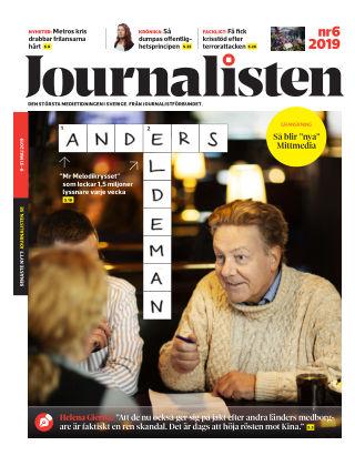 Journalisten Nr 6/2019