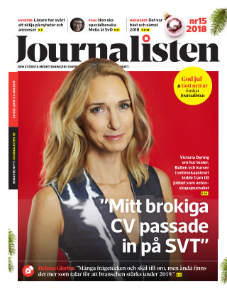 Journalisten Nr 15/2018