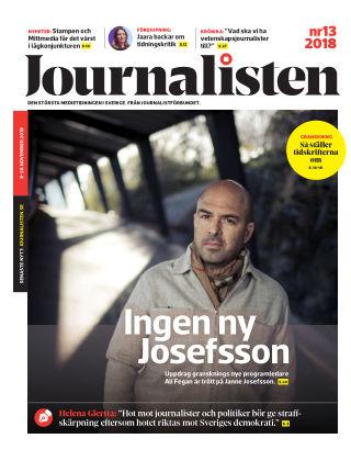 Journalisten Nr 13/2018