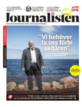Journalisten Nr 10/2018