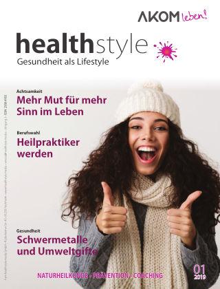 healthstyle – Gesundheit als Lifestyle 01/2019