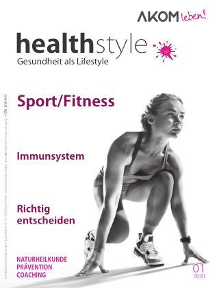 healthstyle – Gesundheit als Lifestyle 01/2020
