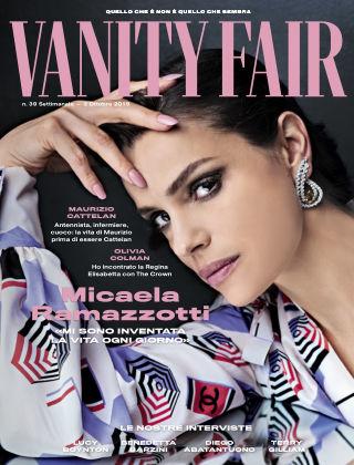 Vanity Fair Italia 39 2019