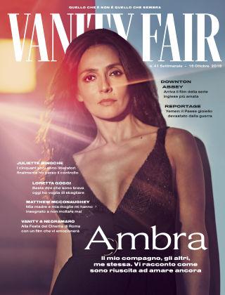 Vanity Fair Italia 41 2019