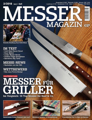 Messer Magazin 3/2018