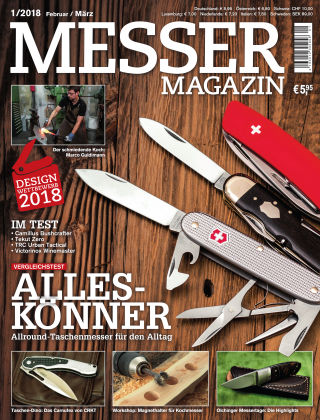 Messer Magazin 1/2018