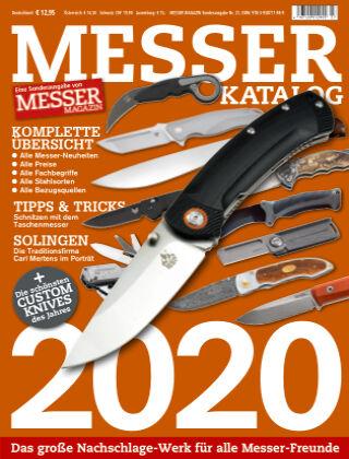 Messer Magazin Messer Katalog 2020